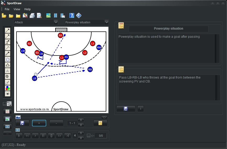 SportDraw Handball