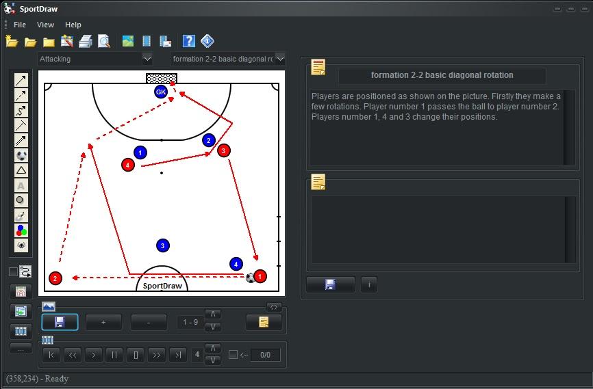 SportDraw Futsal Soccer Indoor 6 full